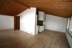 House indoor. Views of an empty house for sale  in denmark Stock Photo