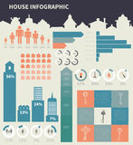 House infographic elements Stock Photo