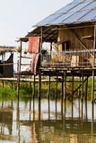 House on Inle Lake, Myanmar Stock Images
