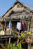 House on Inle Lake, Myanmar Royalty Free Stock Photos