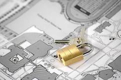 House insurance. And security concept Stock Images