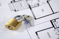 House insurance. And security concept Royalty Free Stock Image