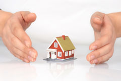 House insurance. royalty free stock photography