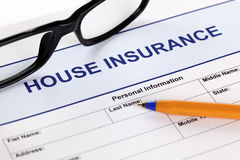 House insurance Royalty Free Stock Photo