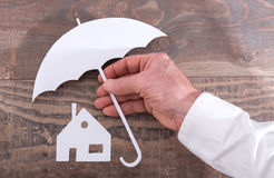 House insurance concept Stock Photo