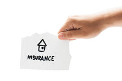 House insurance Royalty Free Stock Photography
