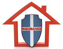 House Insurance Royalty Free Stock Images