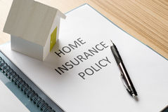 House insurance Royalty Free Stock Photos