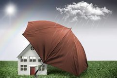 House insurance protection Royalty Free Stock Photography