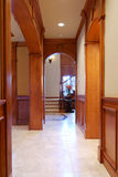 House Interior. Hallway of a large house Royalty Free Stock Photography
