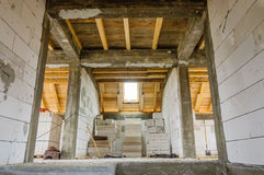 House interior construction Stock Image