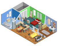 House Interior Design Stock Images