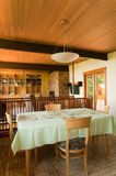 House interior dining area Royalty Free Stock Images