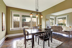 House interior. Dining area Royalty Free Stock Image
