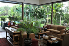 House interior in Lima, Peru Stock Photo