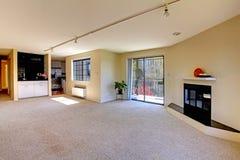 House interior with open floor plan. Empty room Stock Photos