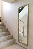 House, interior, staircase view Stock Image