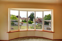 House interior. Window view Royalty Free Stock Photography