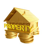 House investment icon symbol Royalty Free Stock Photography