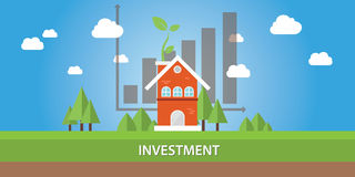 House investment property real estate Royalty Free Stock Image