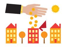 House Investment stock illustration
