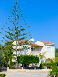 House on the island of Cyprus Stock Image