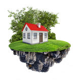 House on island Stock Images