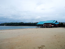 House on the island of Koh Lanta Stock Photos