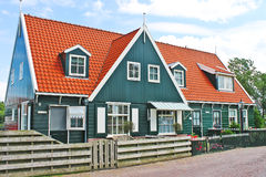The house on the island of Marken. Stock Image