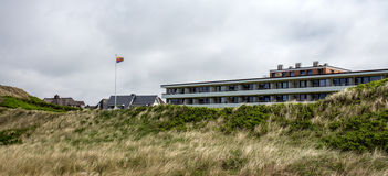 House on the island of Sylt, Germany.  royalty free stock photos