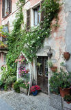 House on the isola bella in italy Stock Image