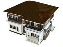House isolated Stock Photo