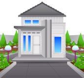 House isolated on white background Stock Image
