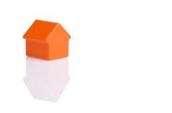 House isolated on white background Stock Photography