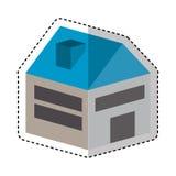 House isometric isolated icon Stock Photos