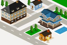 House Isometric Vector Stock Photography