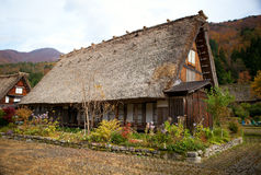 House in istoric village Shirakawa-go Royalty Free Stock Photography