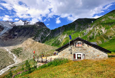 House in italian Alps Royalty Free Stock Photography