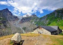House in italian alps Stock Photos