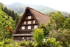 House. Japan green nature culture royalty free stock photography