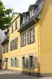 Historic house of Johann Schiller, Weimar (Unesco) Royalty Free Stock Photos