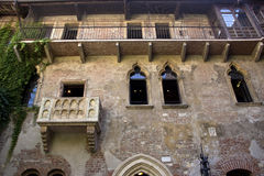 The house of Julia in Verona Stock Photography