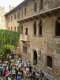 House of Juliet in Verona Royalty Free Stock Image