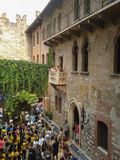 House of Juliet in Verona Royalty Free Stock Photography