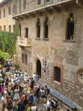 House of Juliet in Verona Stock Images