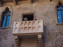 House of Juliet in Verona stock photos