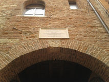House of Juliet in Verona Royalty Free Stock Images