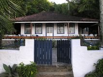 House in jungle Stock Images