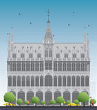 House Königs Brüssel, Belgien Lizenzfreies Stockfoto
