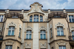 House in Katowice. Old apartment house in Katowice city, Poland Stock Photos